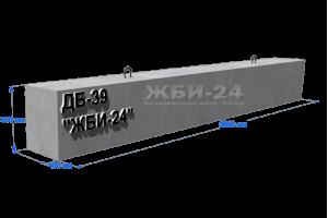 Доборная балка ДБ-39